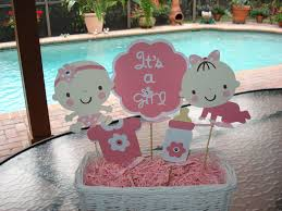baby shower centerpieces girl baby shower centerpieces for girl zone romande decoration