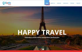 how to travel for free images Travels bootstrap template free download webthemez jpg