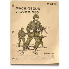 u s military surplus 7 62 machine gun manual new 678036 books