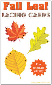 printable thanksgiving cards to color fall leaf lacing cards free printable gift of curiosity