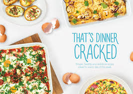 Dinner For The Week Ideas Recipe Leaflets U0026 Ebooks I Love Eggs