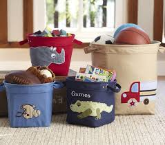 Pottery Barn Storage Bins Pottery Barn Kids Pj U0026 Canvas Toy Bin Review Mommies With Cents