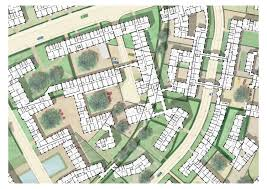 the interlace floor plan the beauty of the cadastral map engelke u0026 fink atlas of places