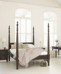 4 Post Bed Frame Bedroom Interesting Bedroom Decoration Ideas Using Cherry Wood