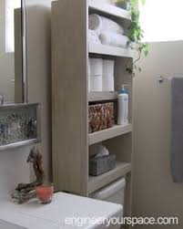 apartment bathroom ideas the runnerduck bathroom cabinet plan is a by