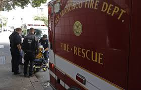 s f fire department hires private ambulances amid major shortage