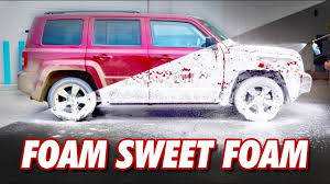Muddy Jeep Vs Foam Cannon Details With Levi Youtube