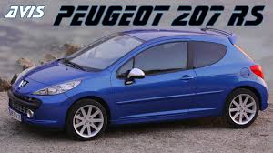 Avis Peugeot 207 Rc 2007 2010 Youtube