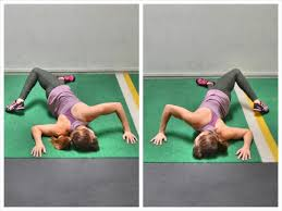lying chest stretch with scorpion