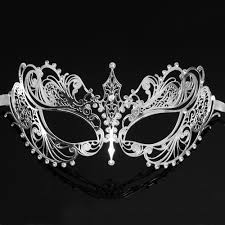white masquerade masks for women masquerade mask metal masquerade mask women silver m33143