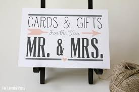 sign a wedding card printable wedding cards and gifts sign card sign gift sign
