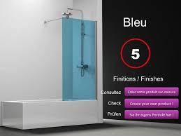 si e pour baignoire paroi de longueur 60 pare baignoire panneau fixe 60 cm