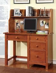 Oak Desk With Hutch Furniture Of America Cm7905oak Dk Omnus Oak Desk With Hutch