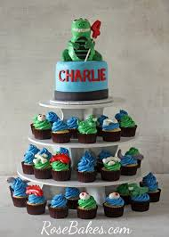 dinosaur cupcakes bakes