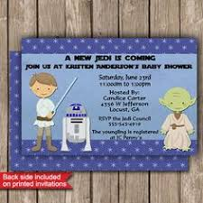 wars baby shower decorations wars baby shower invitation diy printable jedi its a boy