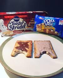 Pumpkin Toaster Strudel Review Battle Pillsbury S U0027mores Toaster Strudel Vs Kellogg U0027s S