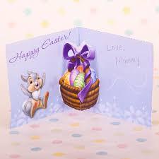 bambi thumper u0027s easter pop up card family disney com