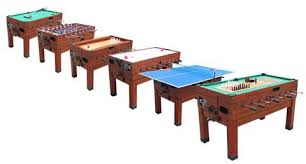 large multi game table playcraft danbury 14 in 1 game table cherry table hockey planet