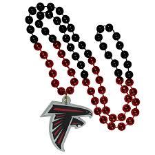 mardi gras beaded necklaces atlanta falcons mardi gras bead necklace