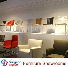 Furniture Showrooms Using Platform To Create Extra Display Space - Furniture showroom interior design ideas