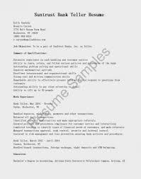 customer service representative bank teller resume sle suntrust bank teller cover letter architectural essay