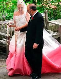 tie dye wedding dress gwen stefani tie dye pink wedding dress gwen stefani tie dye pink