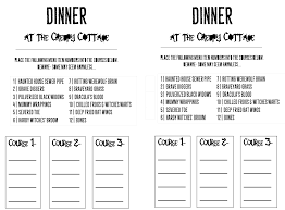 how to host a halloween mixed up dinner u0026 printables so festive