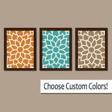 Blue And Orange Bathroom Decor Best Teal Bathroom Sets Products On Wanelo