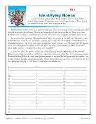 common or abstract concrete abstract nouns worksheet 1