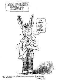 r crumb mr porno rabbit sketch in jyrki vainio u0027s sketches