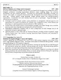 Experienced Resume Samples For Software Engineers by Cool Resume Samples For Software Engineers With Experience 30 For