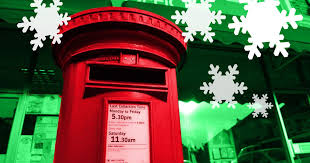 royal mail second class christmas mail must be posted by tomorrow