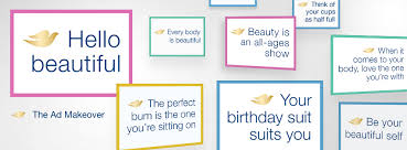 case study dove u0027s u0027ad makeover u0027 brings positive ad messages and