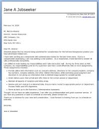 Receptionist Cover Letter Examples for Admin   LiveCareer happytom co