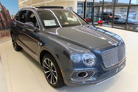 bentley bentayga grey 2017 bentley bentayga w12 signature stock 7nc016116 for sale