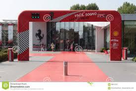 museum maranello maranello modena italy year 2017 museum maranello