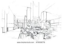 interior design sketch drawing interior design interior design drawings perspective