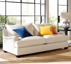Pottery Barn Buchanan Sofa by Appealing Rolled Arm Sofa With Buchanan Roll Arm Upholstered