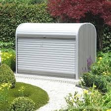 metal garden storage chest rattan storage box outdoor storage