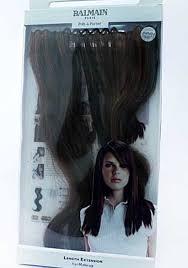 balmain hair balmain hair extension 3pc walnut 40cm redken more restock