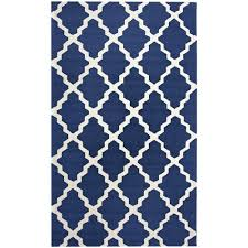 Trellis Rugs Blue And White Trellis Rug Rug Designs