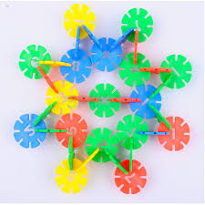 250pcs snowflake jigsaw puzzle diy kids educational toys in