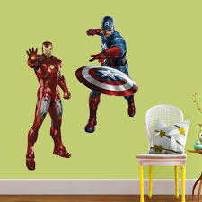 avengers home decor aliexpress com buy hight quality 50x70cm removable wall decals