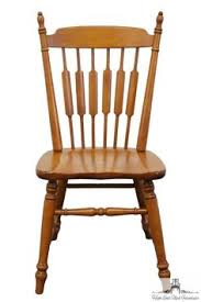 ethan allen heirloom nutmeg maple fiddleback duxbury side chair 10