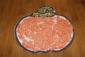 activité manuelle cuisine activité manuelle citrouille en graines bayu le hibou