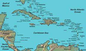 Blank Map Of Belize by Map Of Caribbean You Can See A Map Of Many Places On The List On