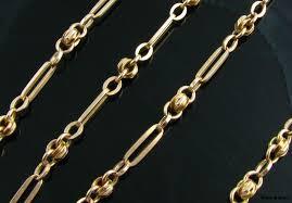 vintage gold chain necklace images Antique gold chain necklace image antique and candle jpg