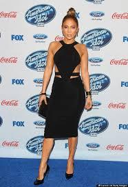 jennifer lopez rocks a little black dress at u0027american idol u0027 party
