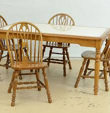 Dining Table And Six Chairs Cochrane Dining Table And Six Chairs Ebth