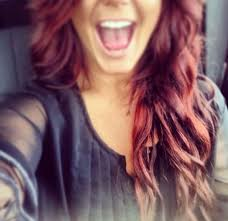 how chelsea houska dyed her hair so red best 25 chelsea houska hair color ideas on pinterest chelsea